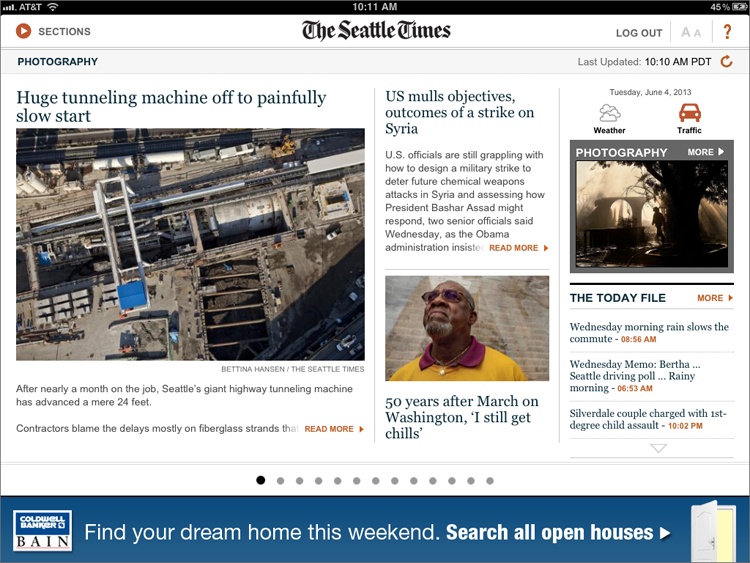 The Seattle Times mobile site