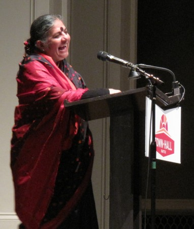 Vandana Shiva - Seattle Town Hall